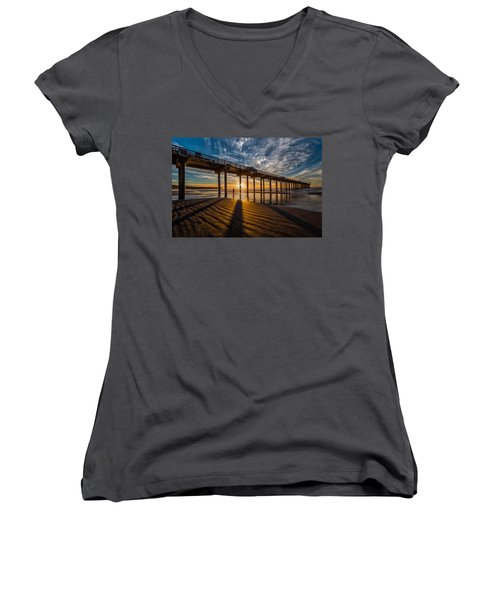 Reflection And Shadow Women's V-Neck