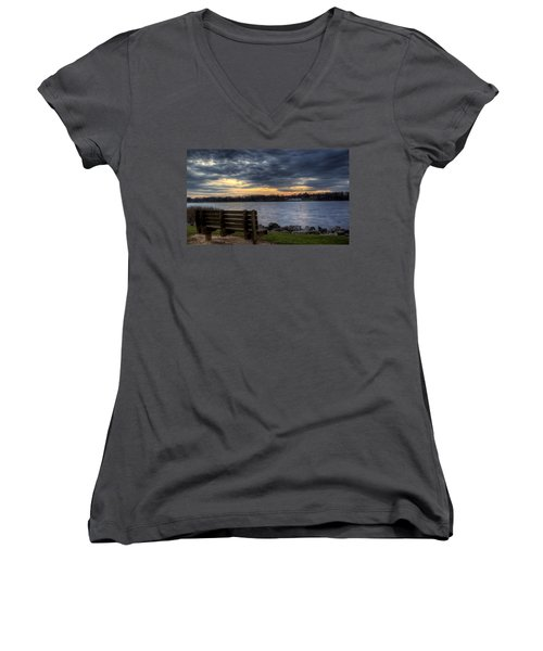 Reflection Time Women's V-Neck