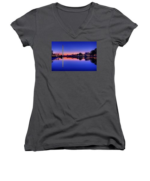 Reflections Of World War II Women's V-Neck