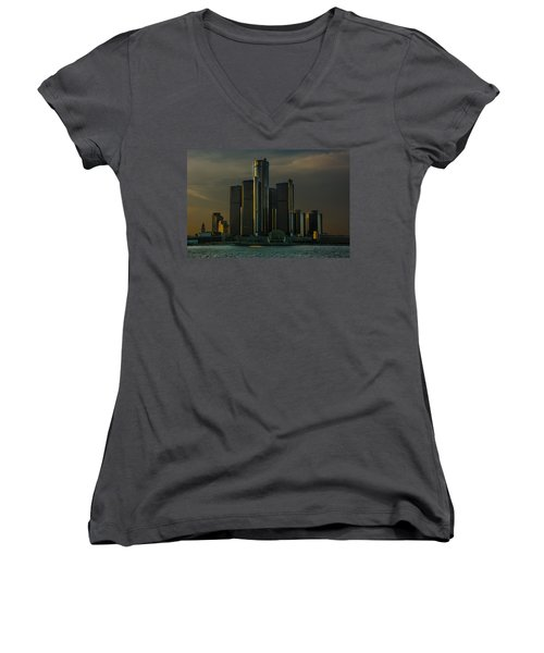Renaissance Center Women's V-Neck T-Shirt