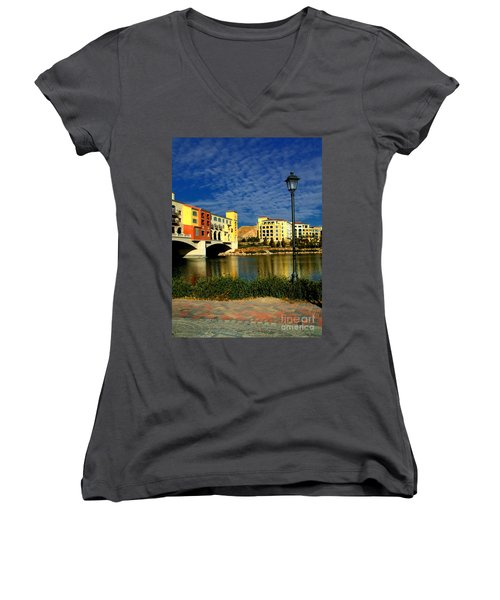 Resort In Henderson Nevada Women's V-Neck T-Shirt