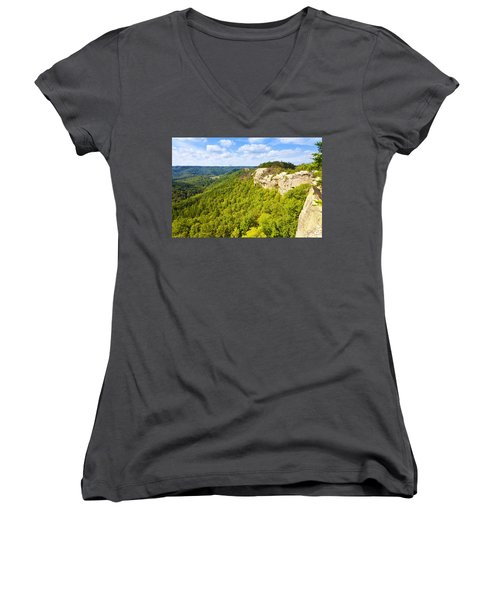 Ridge Top View Women's V-Neck (Athletic Fit)