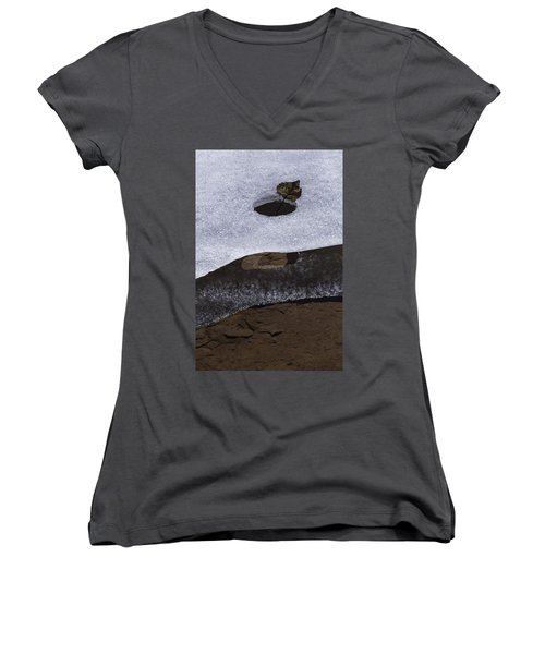 Rise Above Women's V-Neck (Athletic Fit)