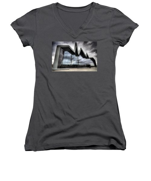 Riverside Museum Women's V-Neck (Athletic Fit)