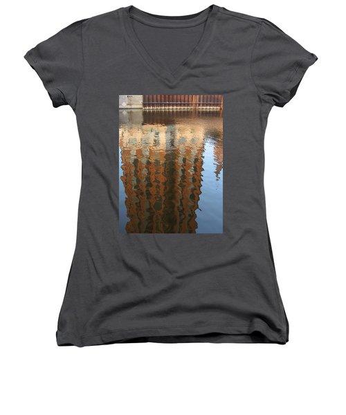 Riverwalk Reflection Women's V-Neck