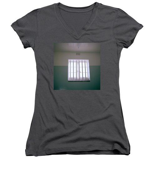 Robben Island Women's V-Neck T-Shirt