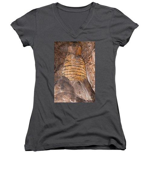 Rock Of Ages Carlsbad Caverns National Park Women's V-Neck