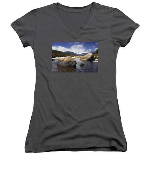 Rocky Mountain Creek Women's V-Neck