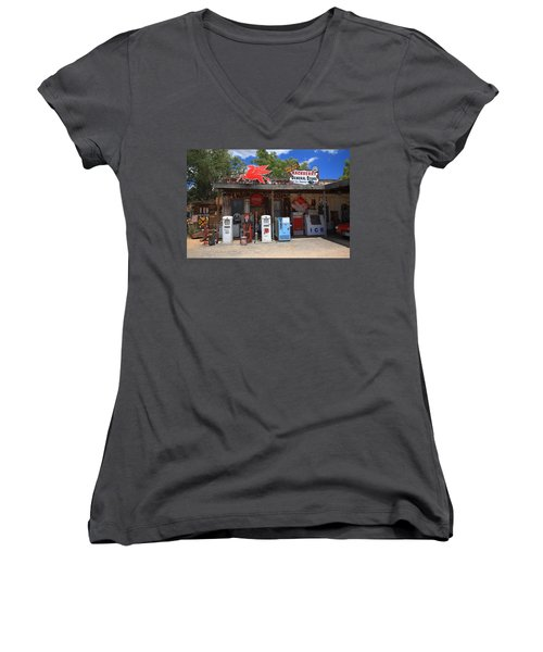 Route 66 - Hackberry General Store Women's V-Neck