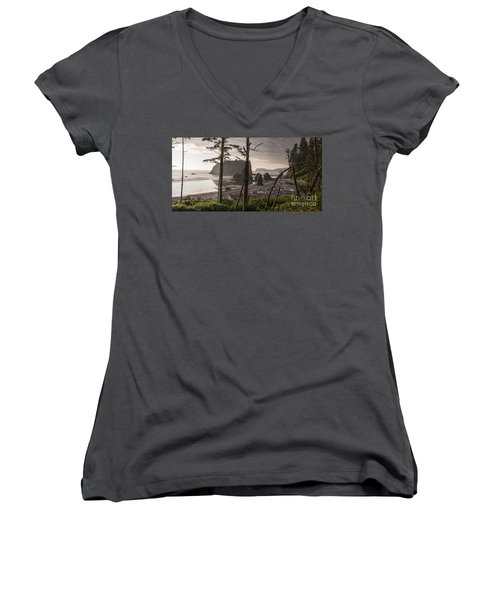 Ruby Beach Women's V-Neck (Athletic Fit)