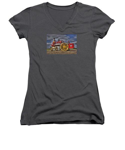 Russell Steam Women's V-Neck T-Shirt