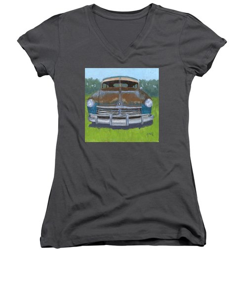 Rusty Hudson Women's V-Neck T-Shirt
