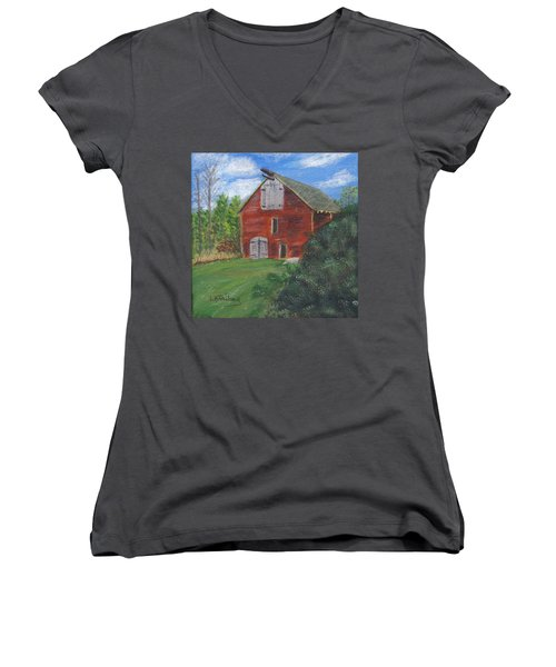 Ruth's Barn Women's V-Neck T-Shirt