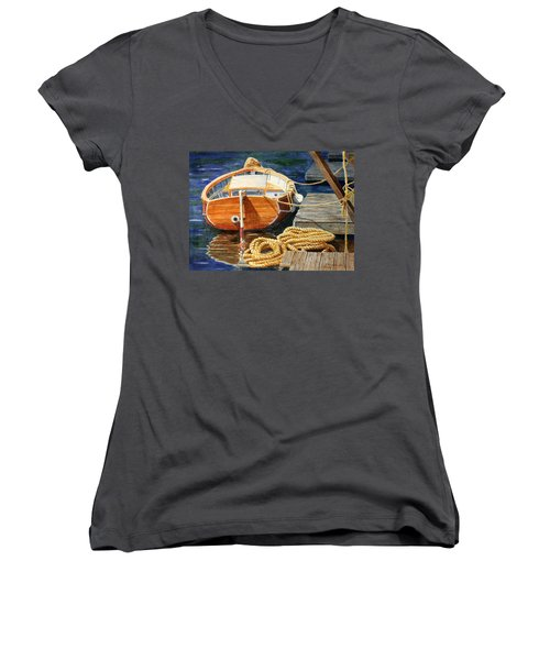 Safe Mooring Women's V-Neck T-Shirt