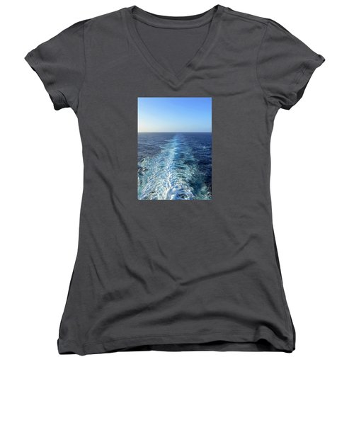 Sailing Away Women's V-Neck T-Shirt