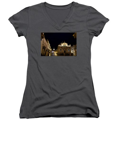 Saint Blaise Church - Dubrovnik Women's V-Neck
