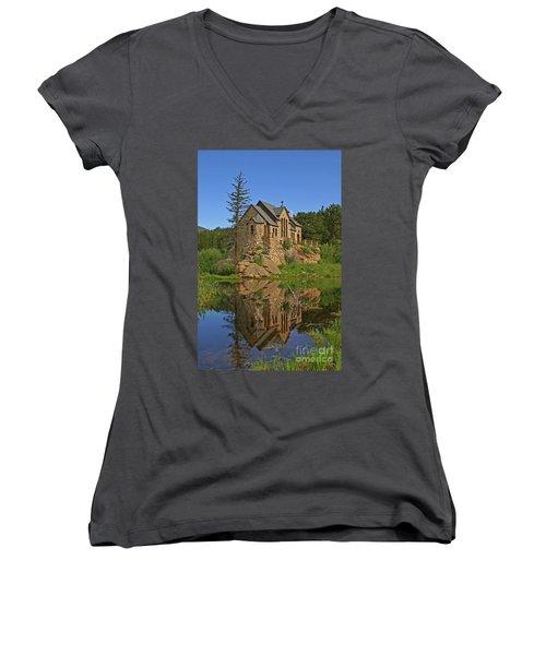 Saint Malo Reflection Women's V-Neck T-Shirt