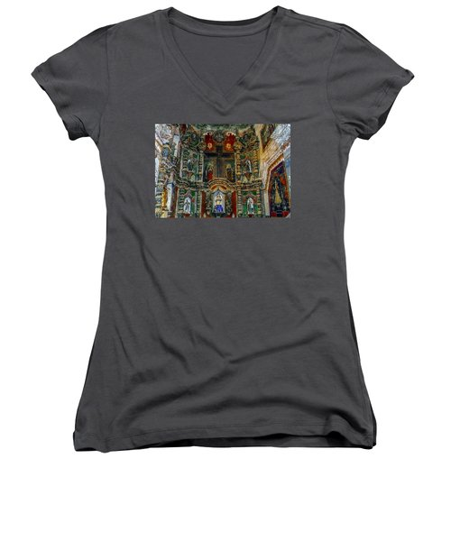 San Xavier Mission Women's V-Neck