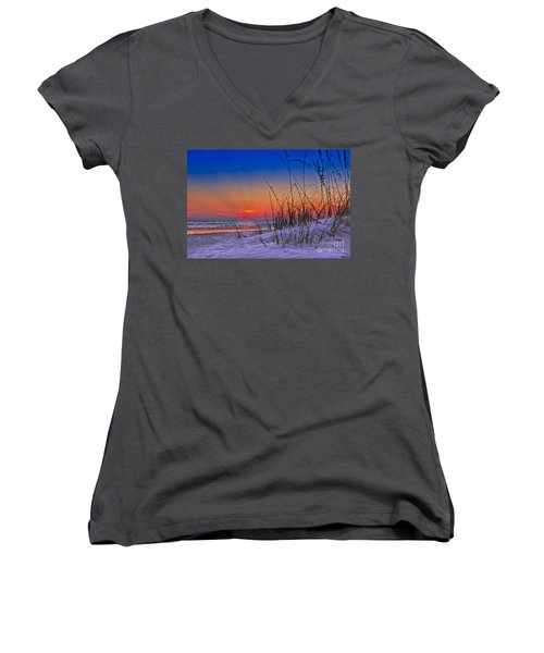 Sand And Sea Women's V-Neck T-Shirt