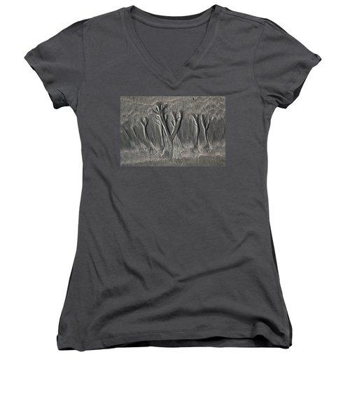 Sand Trees Women's V-Neck