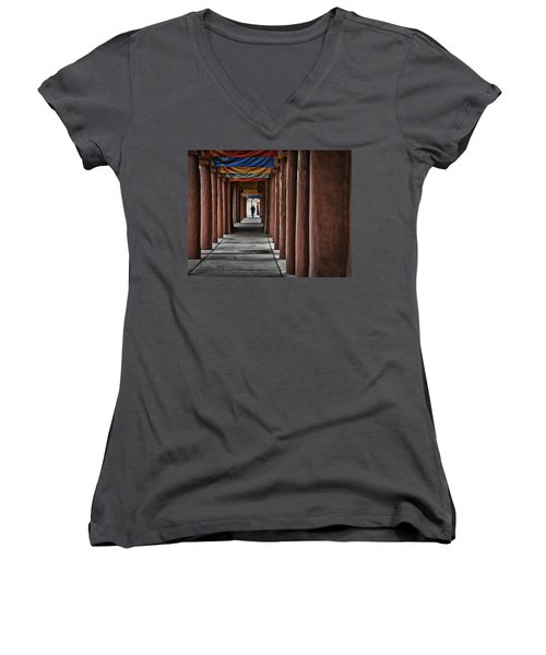 Santa Fe Nm 4 Women's V-Neck (Athletic Fit)