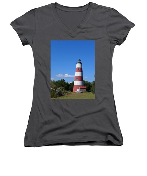 Sapelo Light Women's V-Neck T-Shirt