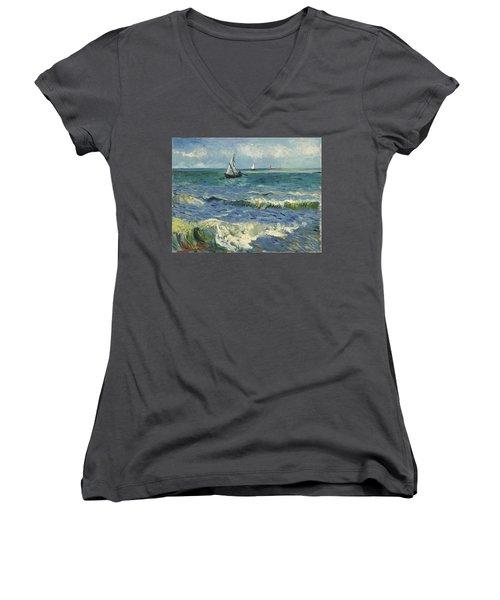 Seascape Women's V-Neck
