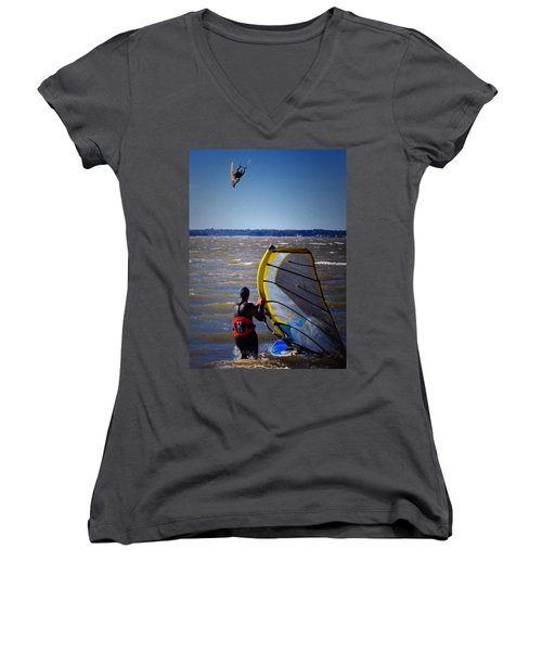See Ya Roun Women's V-Neck T-Shirt
