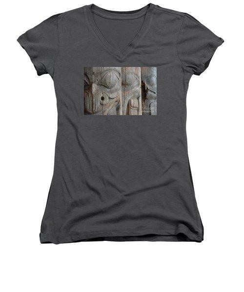 Seeing Through The Centuries Women's V-Neck T-Shirt