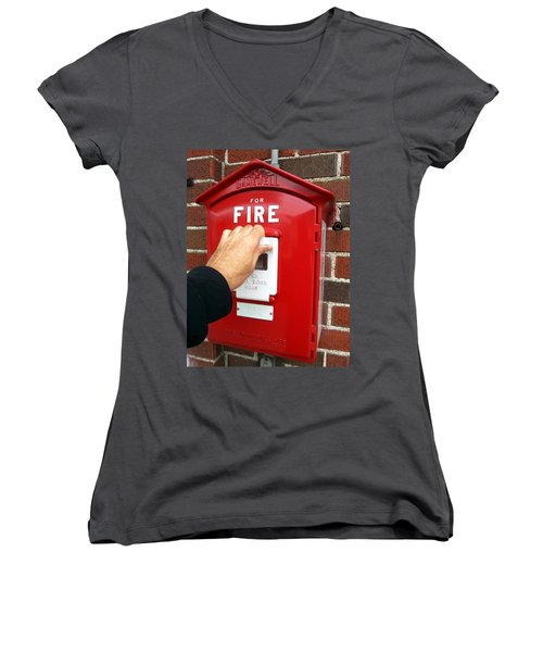 Self Control Is A Good Thing. Women's V-Neck T-Shirt