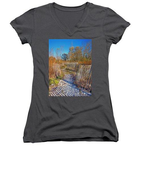 Serenity Trail.... Women's V-Neck
