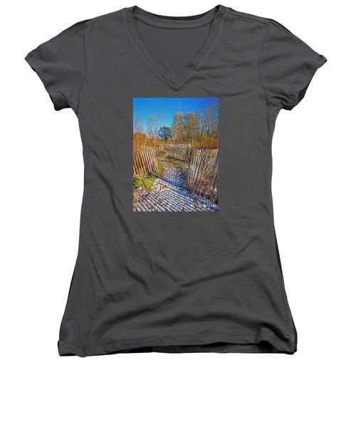 Serenity Trail.... Women's V-Neck