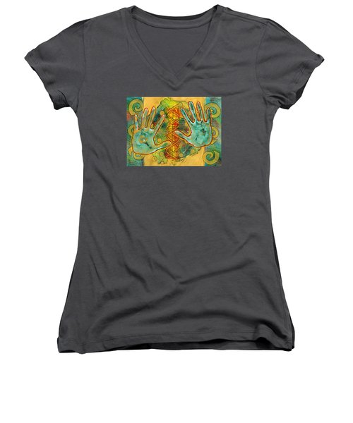 Shape Of Things Women's V-Neck (Athletic Fit)