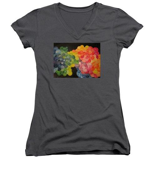 Shattered Dreams Women's V-Neck T-Shirt