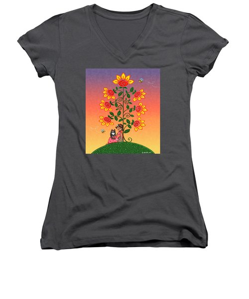 She Is Life Barnes And Noble Women's V-Neck