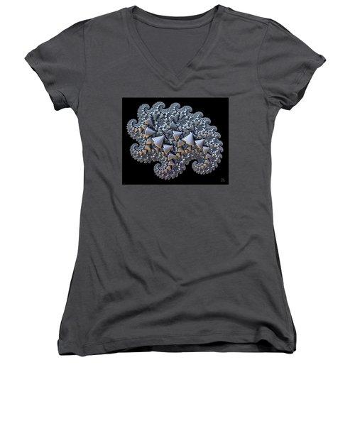 Shell Amoeba Women's V-Neck T-Shirt