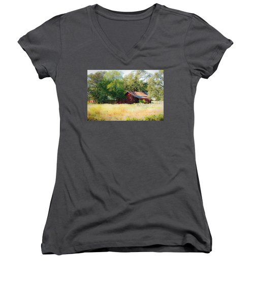 Sheltered Women's V-Neck