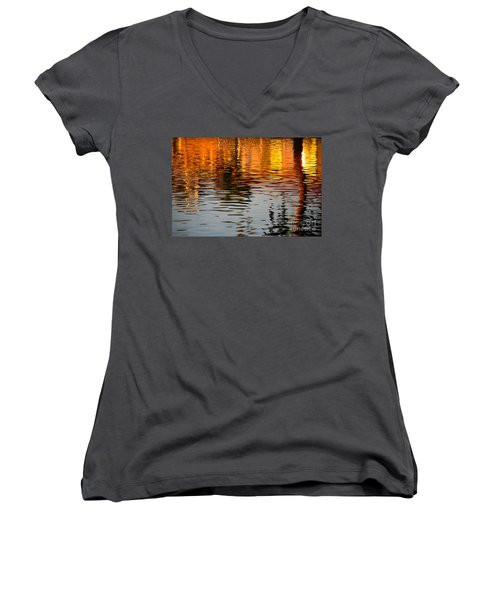 Shimmering Waters Women's V-Neck (Athletic Fit)