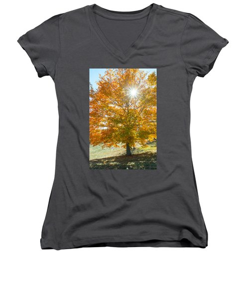 Shining Through Women's V-Neck T-Shirt