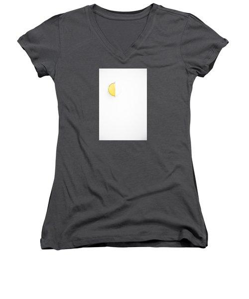 Ship Light Women's V-Neck T-Shirt (Junior Cut) by Darryl Dalton