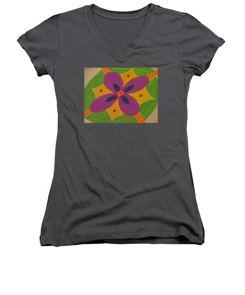 Shubh Vijayadashmi Women's V-Neck T-Shirt