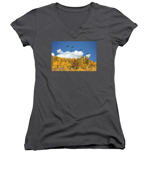 Signs Of The Season Women's V-Neck T-Shirt