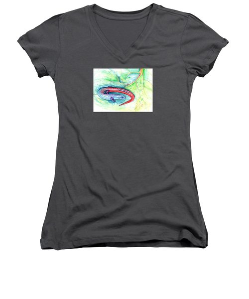 Simon Women's V-Neck T-Shirt