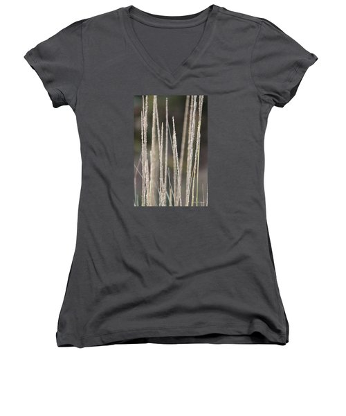 Simply Pure Women's V-Neck T-Shirt (Junior Cut) by Amy Gallagher