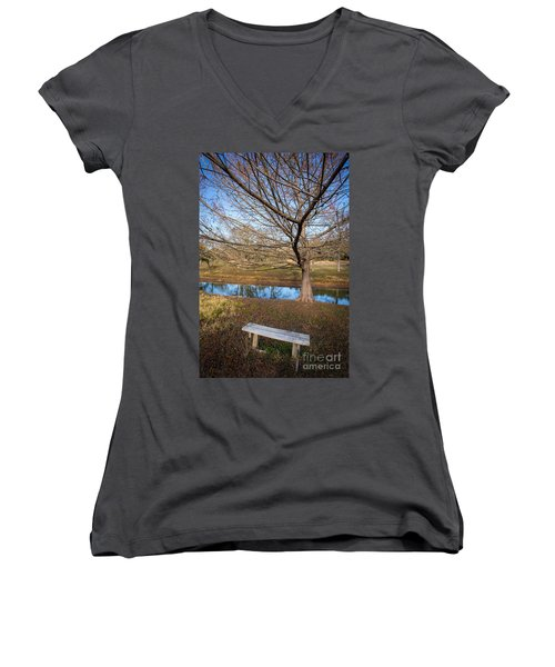 Sit And Dream Women's V-Neck