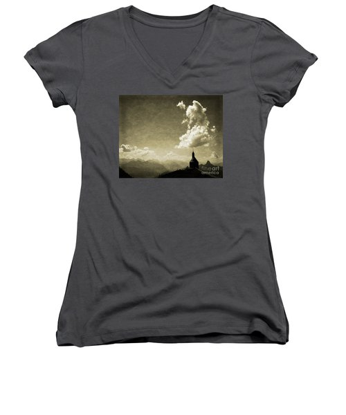 Skyfall Women's V-Neck