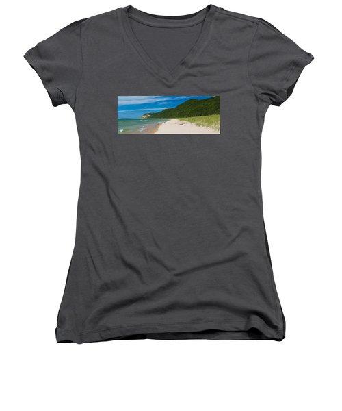 Sleeping Bear Dunes National Lakeshore Women's V-Neck