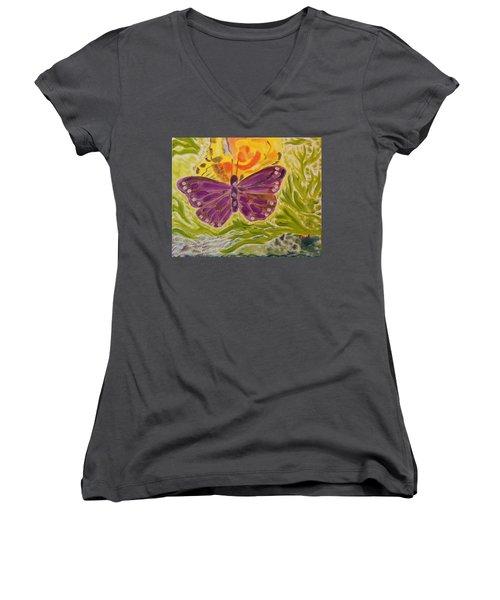 Soft Flutters Women's V-Neck T-Shirt