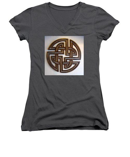 Sol Three Women's V-Neck T-Shirt