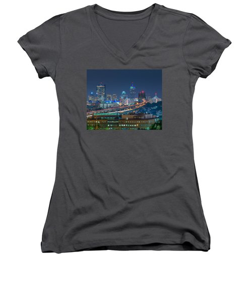 Soldiers Home Women's V-Neck